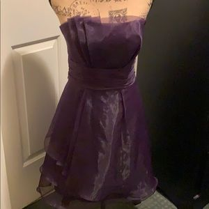 Beautiful purple dress by David's Bridal